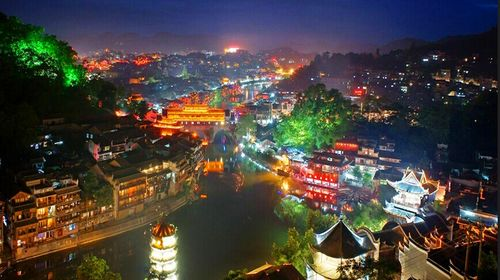 湖南长沙-张家界-天门山-黄龙洞-凤凰古城双飞6日游图片