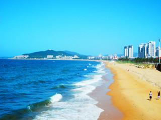 乐出海 烟台 威海 金沙滩国际海水浴场 海驴岛 沙雕园 五星高端品质4