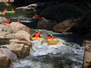 大溪峡激流闯滩漂流自驾2日游 宿桐庐皇公馆图片
