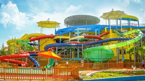 桂林 玉圭园 水上乐园狂欢1日游 清凉夏季 周末必选