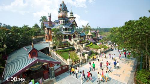 深圳香港6日游>海边玩耍踏浪拾贝壳,玩转海洋公园迪士尼 亲子
