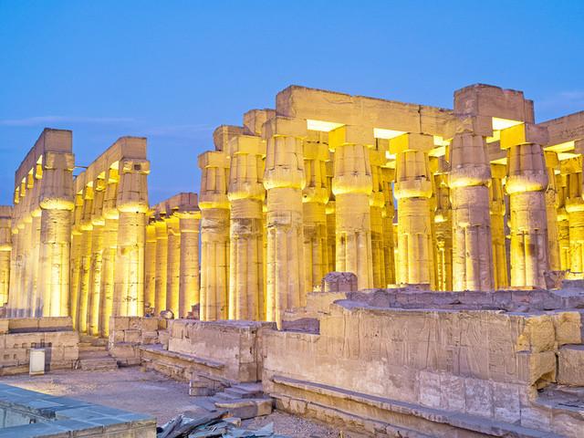 埃及卢克索神庙