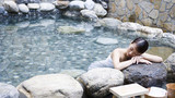 汤池热水河温泉
