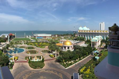 [五一]<泰國曼谷-芭提雅6或7日游>落地簽免費,南航直飛,0自費,國際自助餐,公主號游船,泰國風情園潑水節,含泰式按摩