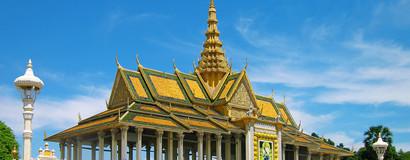 柬埔寨-金边-吴哥5天4晚游4612元起