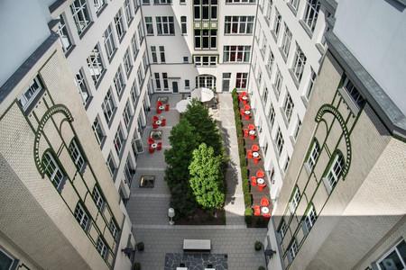 柏林查理检查站阿迪娜公寓酒店