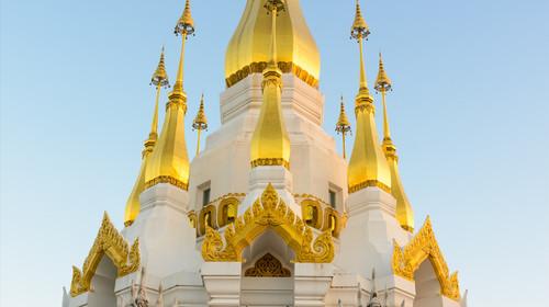 泰国曼谷-清迈机票+当地