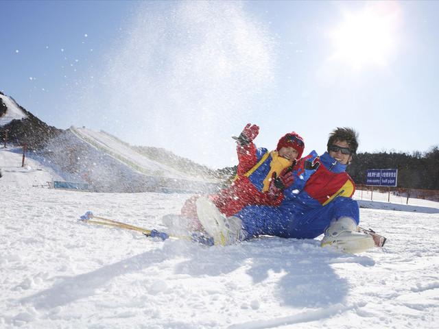 <竹林畔滑雪+汤峪碧水湾温泉一日游>