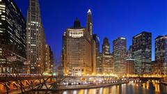芝加哥londonhouse希尔顿curio collection酒店