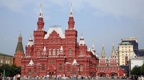 俄罗斯莫斯科圣彼得堡8日6晚游