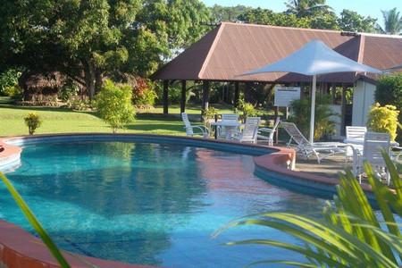 斐济壁虎的度假村