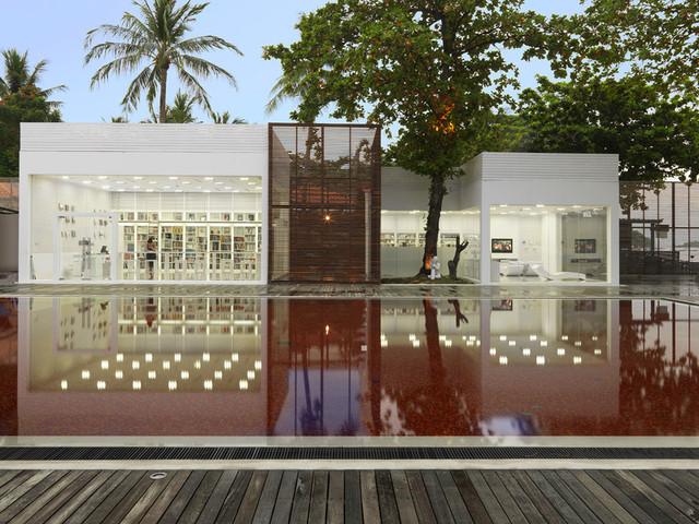 苏梅岛|血色泳池