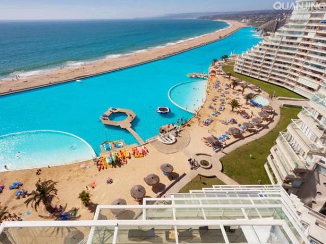 智利|海水泳池