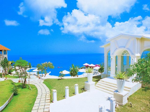 巴厘岛|蓝点无边泳池