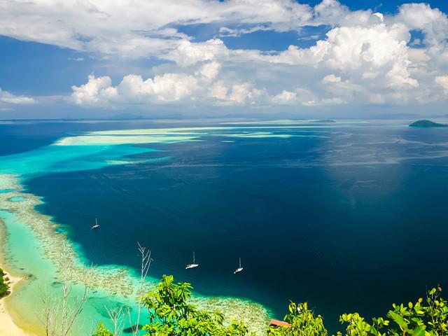 <自然探索·仙本那跳岛曼达布安岛+珍珠岛+塔塔甘+军舰岛>1人即可预定