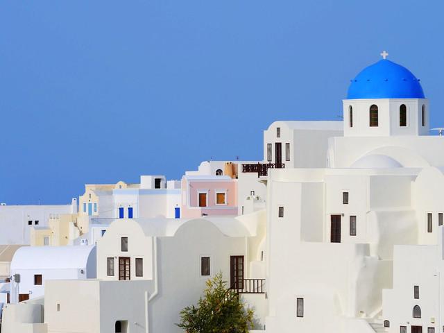 <雅典圣托里尼6日5晚游>雅典集散、雅典深度游、圣托里尼OIA、免費接送機、黑沙灘(雅典當地參團)