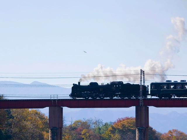 搭乘童话里的蒸汽小火车