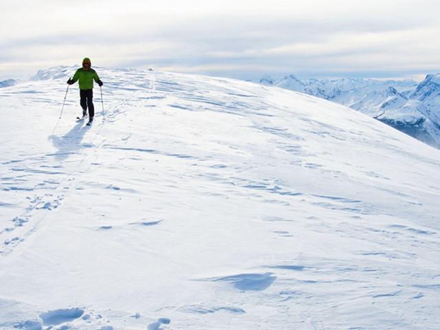 感受滑雪的激情
