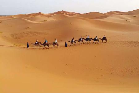 [五一]<摩洛哥10-12天游>纯玩0购物/蓝白小镇,沙漠酒店,哈桑二世清真寺,四驱车入沙漠/AD线12天,无自费,马车巡游/BC线10天