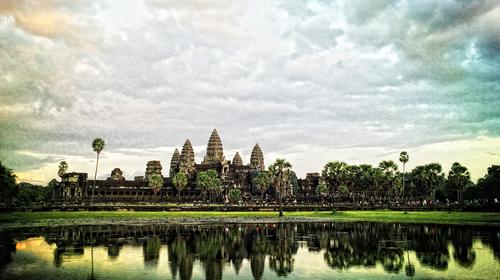 柬埔寨暹粒机票+当地5或
