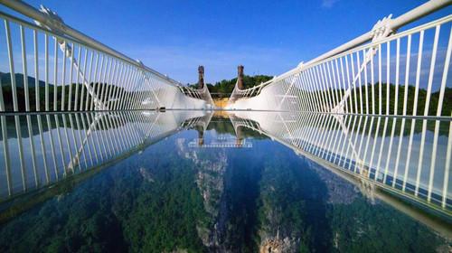 长沙-玻璃桥-森林公园-天
