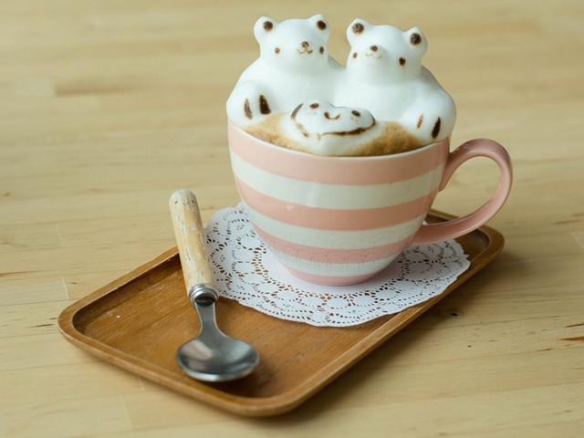 轻松熊主题咖啡店