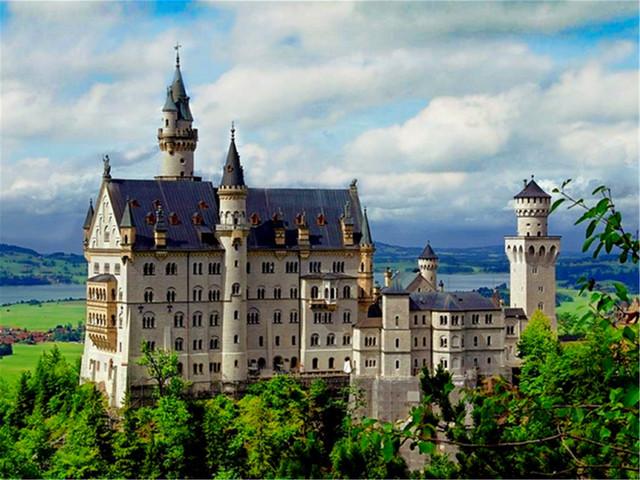 <德国6晚7日深度游>法兰克福集散、海德堡城堡、霍亨佐伦城堡、新天鹅堡、德国楚格峰(当地参团)
