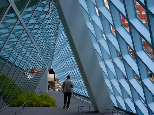 Seattle Central Library 西雅图中央图书馆