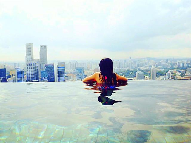 新加坡|无边泳池