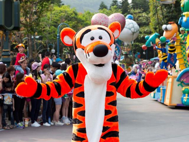 香港迪士尼童话世界 4日游