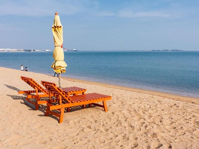 去美溪海滩享受阳光