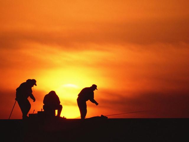 去山茶半岛看绝美夕阳