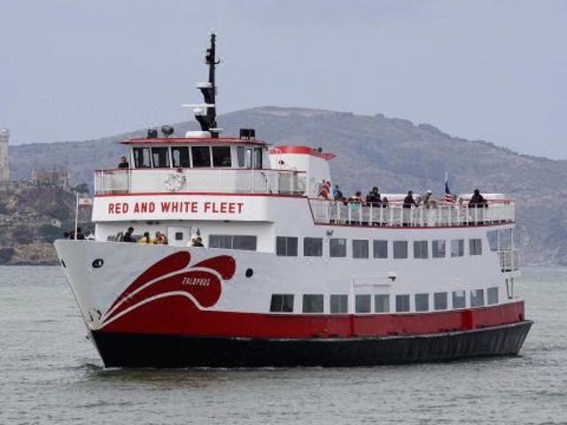 <舊金山紅白游艇Red and White Fleet巡航之旅>