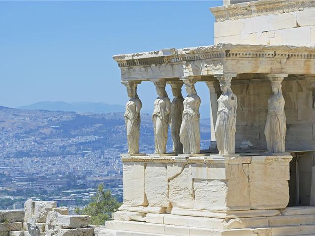 伊瑞克提翁神庙Erechtheion