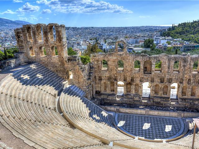 阿迪库斯剧场Odeon of Herodes Atticus