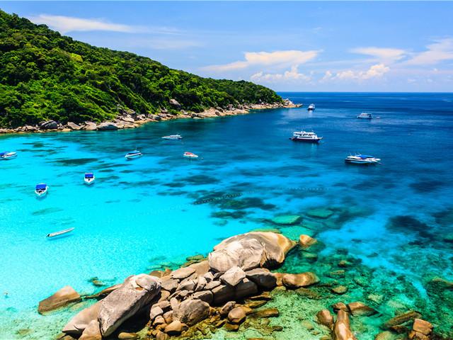 泰国丨斯米兰群岛
