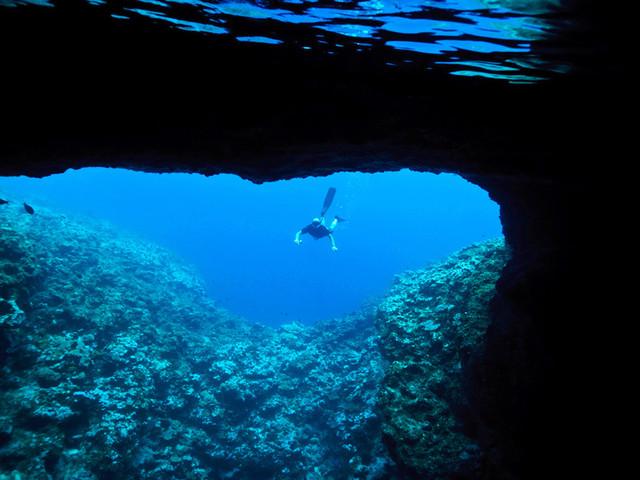 去海底洞穴潜水