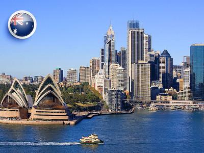 【预售】澳大利亚个人旅游签证【北京录指纹】十年多次签证-全国受理-电子材料