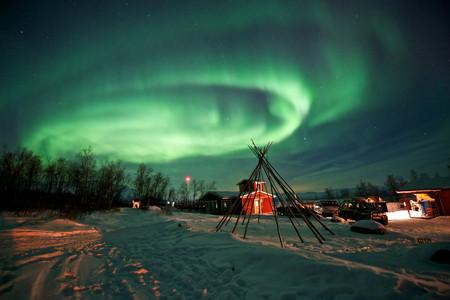 <阿拉斯加+西雅圖機票+當地10日游>北極光之旅,邂逅極光,坐小飛機飛越北極圈/極光列車觀景/泡溫泉守候極光