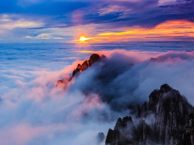 黄山日出云海心之所向 2日经典游