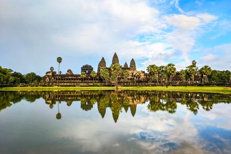 <越南-柬埔寨7或8日游>0自费,1个免税店,越柬连线两国游,大小吴哥,洞里萨湖,暹粒泳池酒店,特色餐,歌舞表演
