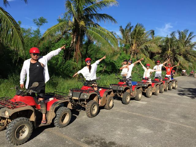 塞班岛ATV越野摩托山地丛林探险