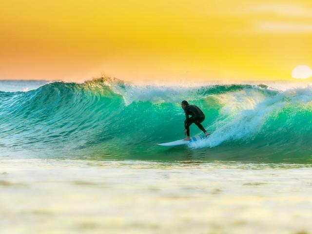 风景篇•澳洲(4)黄金海岸享受沙滩美景