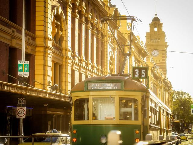 风景篇•澳洲(2)去墨尔本坐一次小火车