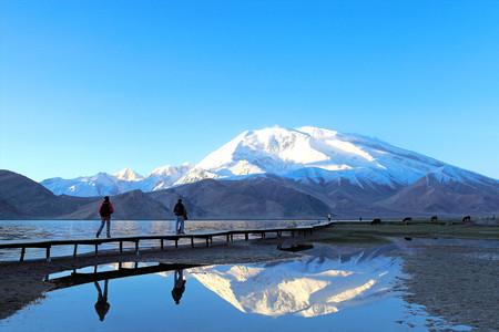 <帕米尔高原喀拉库勒湖1日游>帕米尔高原风光、冰山之父