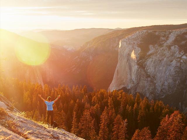 <【免费多种语音导览】优胜美地国家公园1日游>旧金山接送 含优胜美地国家公园门票 专业的领队带领