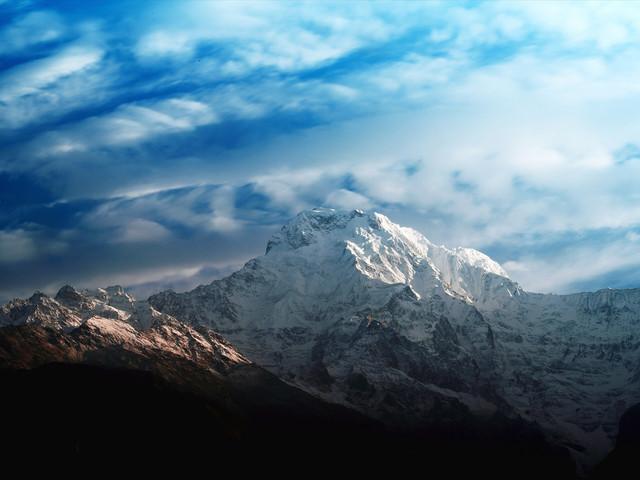 <尼泊爾ABC博卡拉+魚尾峰+安娜普爾納大本營11日徒步游>十大徒步線路,專業徒步團隊,雪山徒步觀看3座高峰,直升機救援,2人成行,當地參團