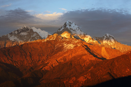 <尼泊尔ABC博卡拉+鱼尾峰+安娜普尔纳大本营11日徒步游>十大线路榜首,专业徒步团队,雪山徒步观看3座高峰,直升机救援,2人成行