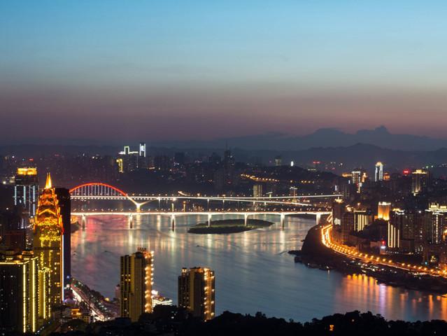 < 一棵树观景阁-重庆南山观夜景半日游>18点出发 0购物 自选长江索道