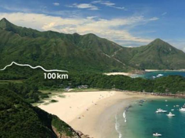 <【夏日香港】麦理浩径第二段穿越>麦理浩径,万宜水库、西湾,咸田湾,赤径
